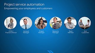 Deliver projects on time and on budget with Microsoft Dynamics 365 for Project Service Automation